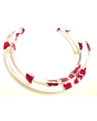 LG - Elegance collar - rose