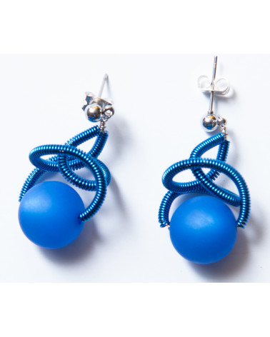 SGP-Sat earrings LG - blue