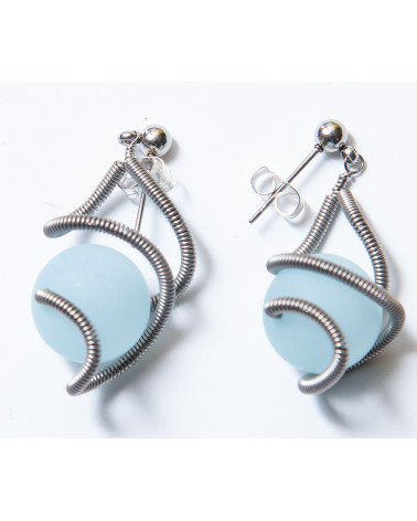 SGP-SAT EARRINGS LG - cloud